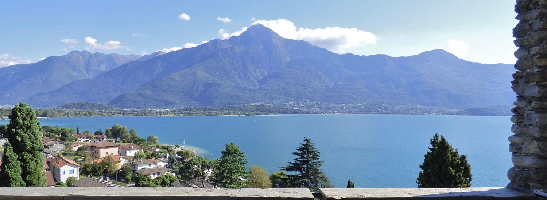 Lake Como Gera Lario Villa Lake View