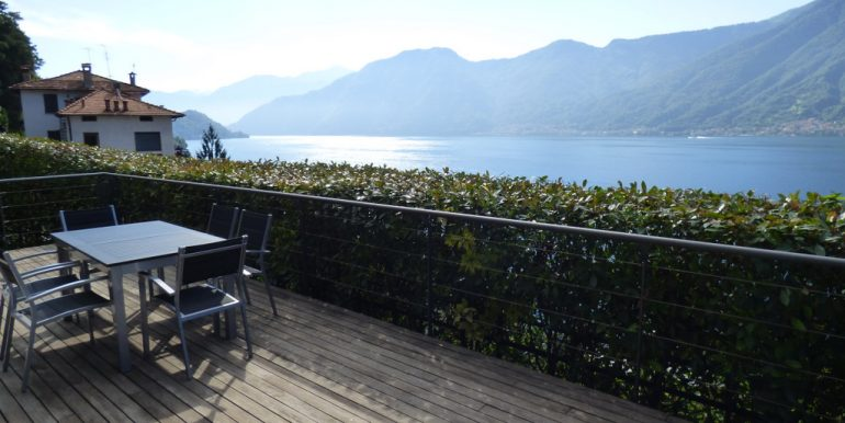 Lake como view - terrace