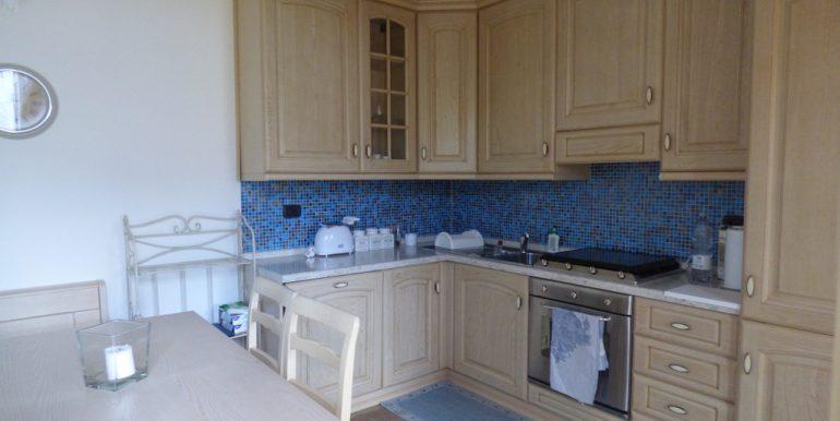 Kitchen in house Tremezzina