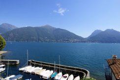 Lake Como view in San Siro village - Como lake