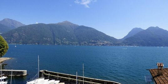Apartment San Siro with balcony and lake view