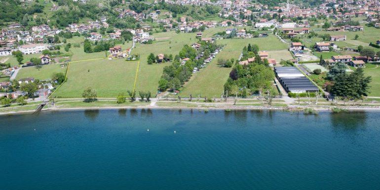 Gravedona ed Uniti Tourist Land Area Front Lake Sunny