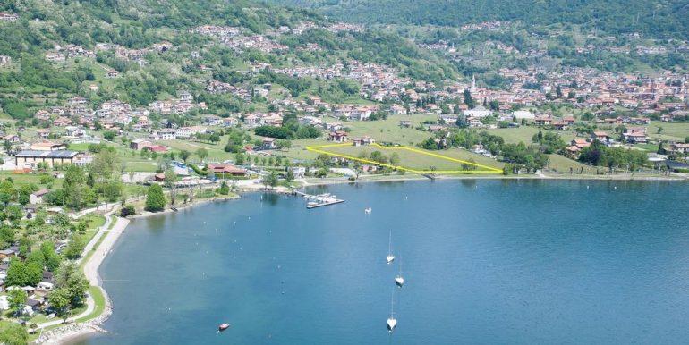 Gravedona ed Uniti Tourist Land Area Front Lake