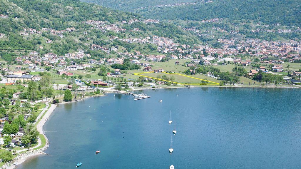 Land Camping Front Lake Como