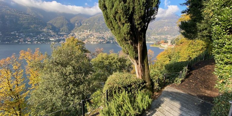 Villa Front Lake Como with Boat Place Torno - views