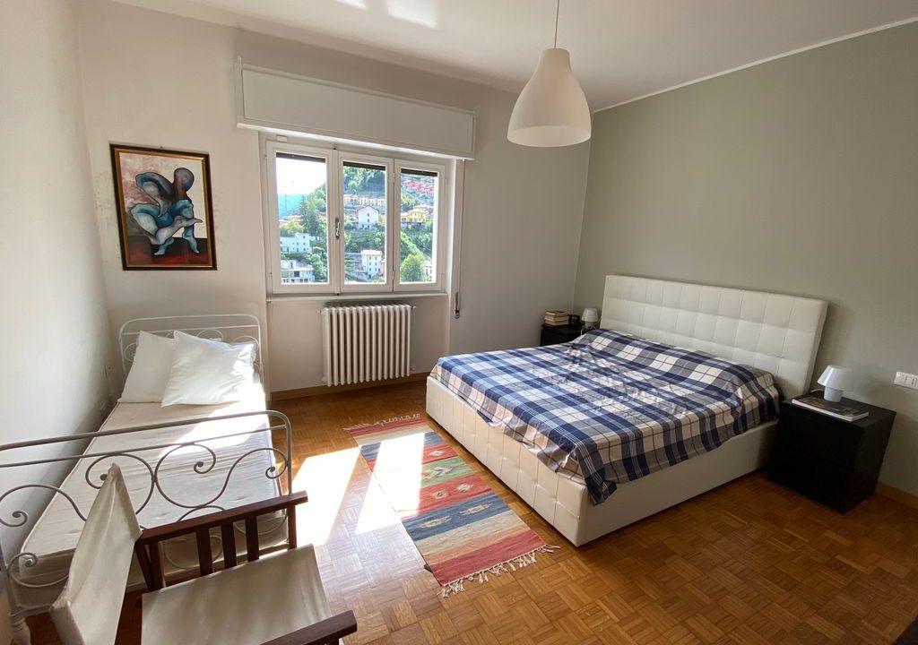 Argegno Villa Lake Como View  - bedroom