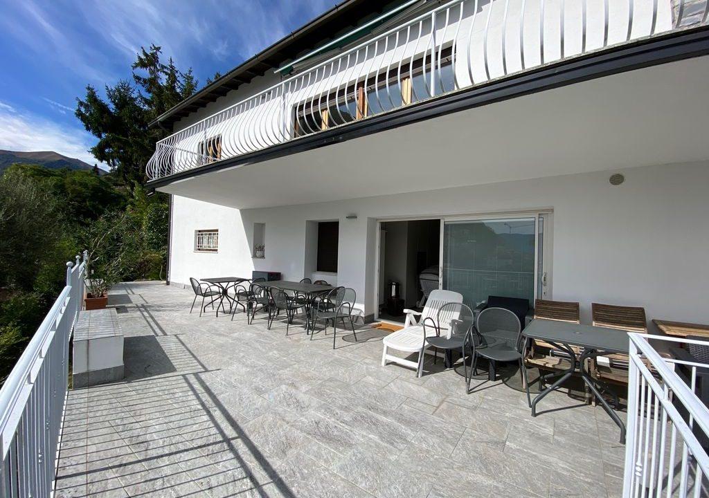 Argegno Villa Lake Como View  - terrace