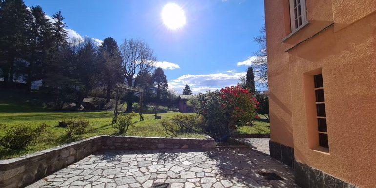 Lake Como Villa with Park