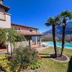 Lake Como Cremia Luxury Villa with Pool - sunny