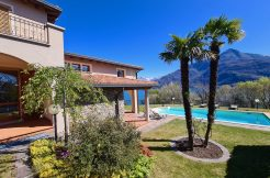 Lake Como Cremia Luxury Villa with Pool - sunny