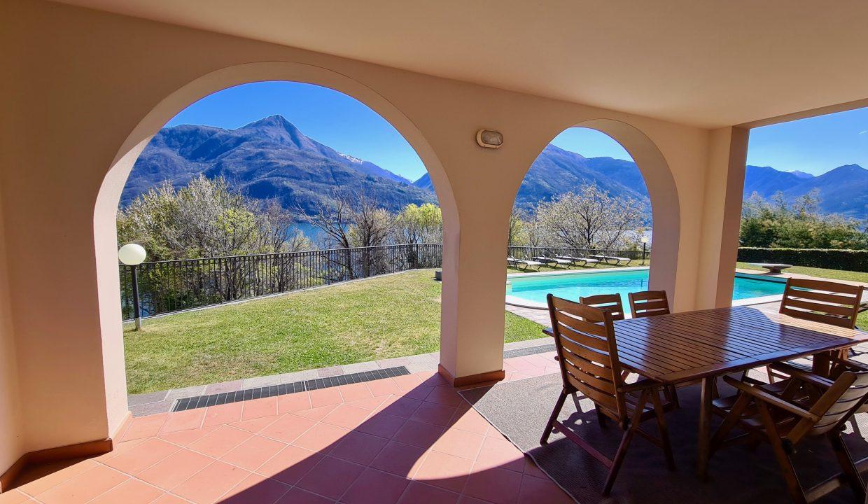 Lake Como Cremia Luxury Villa with Pool