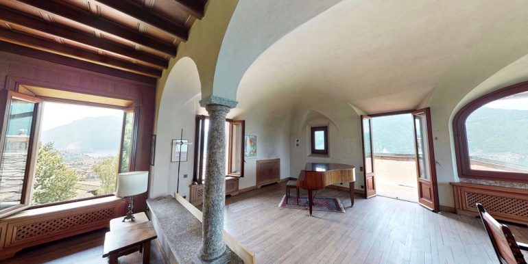 Luxury Villa Lake Como Mandello del Lario - tower