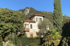 Lake Como Villa Oliveto Lario Front Lake with Boathouse