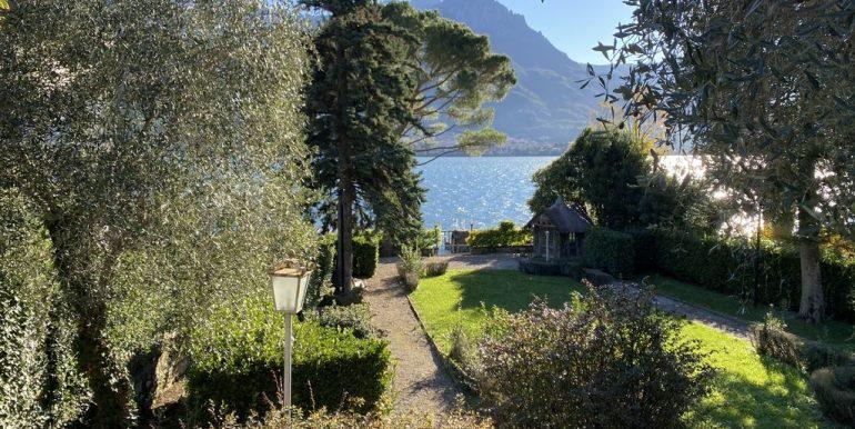 Lake Como Villa Oliveto Lario Front Lake with Boathouse - lake view