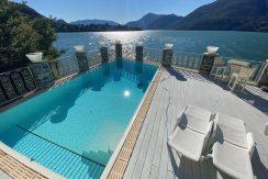 Villa Front Lake Como Dervio