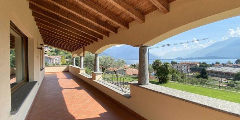 Villa Lake Como Domaso - terrace