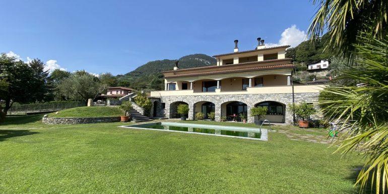 Villa Lake Como Domaso with pool