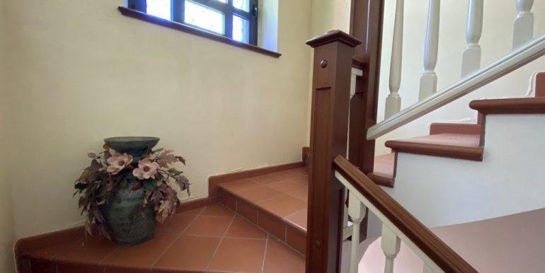 Villa Lake Como Domaso - staircase