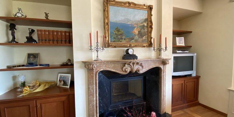 Villa Lake Como Domaso - fireplace