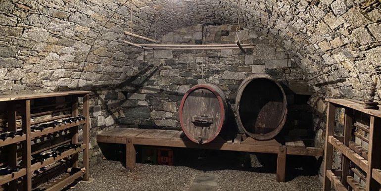 Villa Lake Como Domaso -cellar