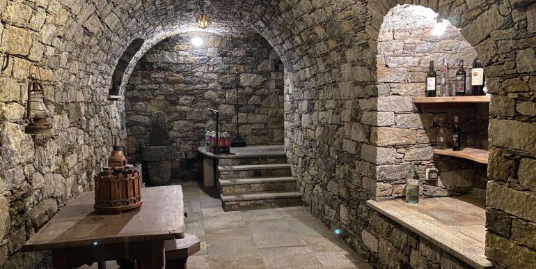 Villa Lake Como Domaso - cellar