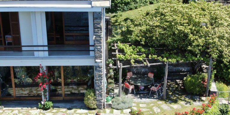 Villa Front Lake Como Dorio with Garden terrace