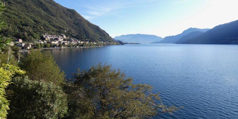 Villa Front Lake Como with veranda