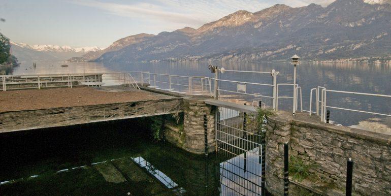 Lake Como Villa Oliveto Lario Front Lake with dock