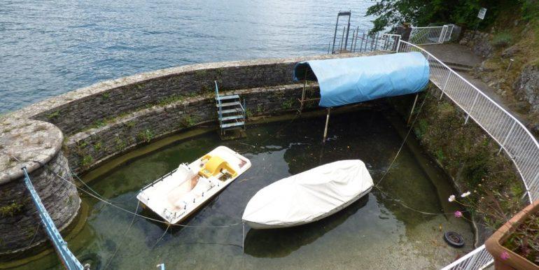 Villa Bellagio Front Lake Como with Dock - views