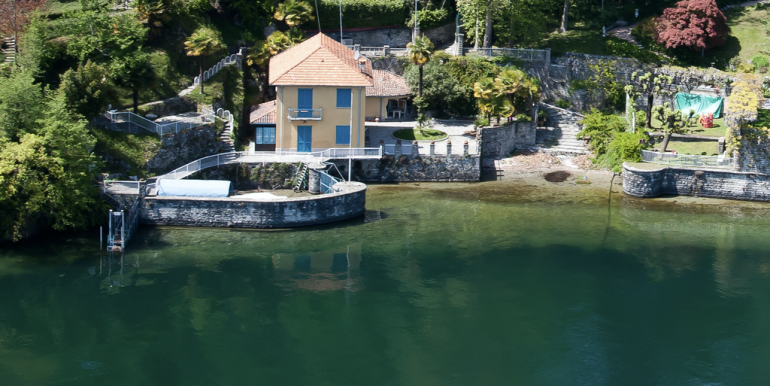 Villa Bellagio Front Lake Como with Dock - boat place