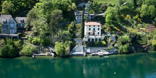 Villa Bellagio Front Lake with Park and Pier – Lake Como