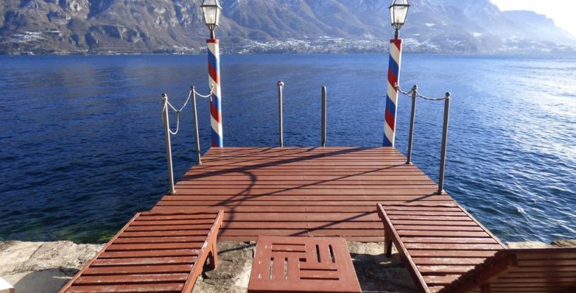 Villa Bellagio Front Lake with Park and Pier – Lake Como