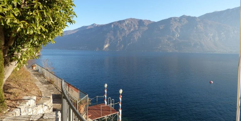 Lake Como Bellagio Villa on the lake