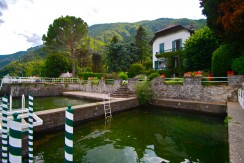 Lake Como Oliveto Lario Front Lake Villa with Dock