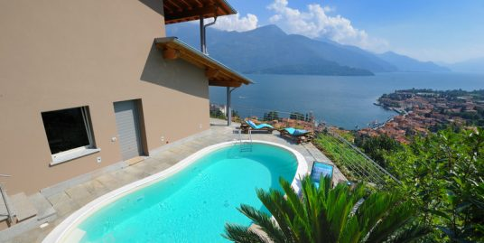 Gravedona ed Uniti Detached Villa with Lake View
