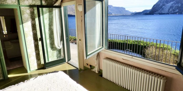 Villa Front Lake Abbadia Lariana Lake Como with terrace