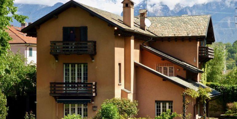Lake Como Colico Independent Villas with Park - Villa A -