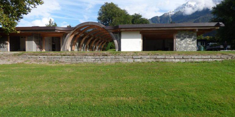 Villas Front Lake Como Colico with Boathouse sunny
