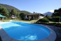 Lake Como Sorico Independent Villa with Pool