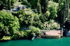 Villa Front Lake Como with Boat Place Torno