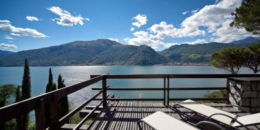Lake Como Colico Luxury Villa with Lake View