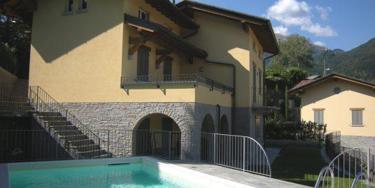 Lake Como Menaggio Villa with lake view and swimming pool