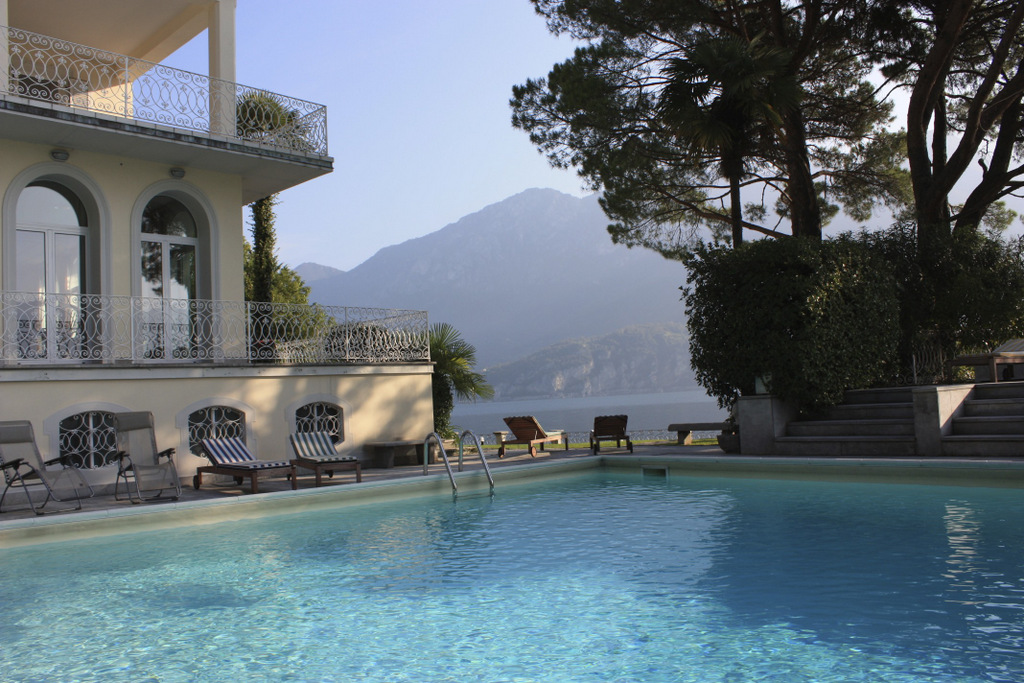 Lake Como Oliveto Lario Luxury Villa With Pool