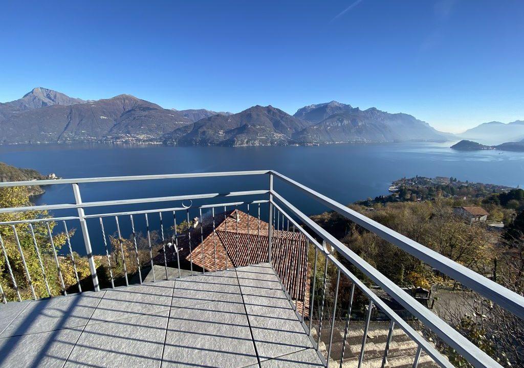 Lake Como Menaggio Villa with Terrace - sunny