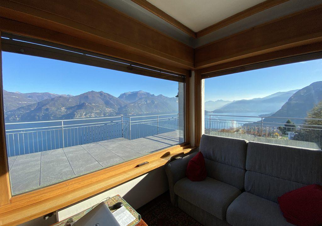 Lake Como Menaggio Villa with Terrace - lake view