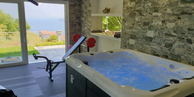 Villa With Lake View Pianello del Lario Lake Como - jacuzzi