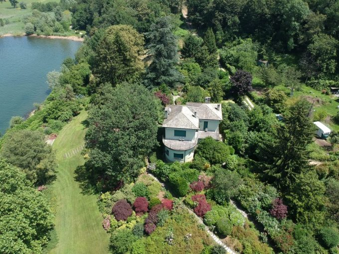 Luxury Villa Front Lake Colico with Boathouse