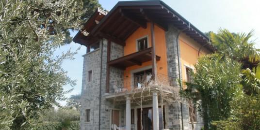 Lake Como Colico Villa with Private Garden
