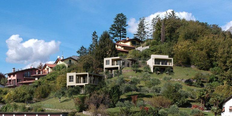 Lake Como Menaggio New Modern Villas and pool