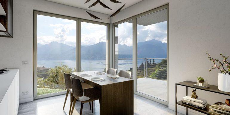 Lake Como Menaggio New Modern Villas - living